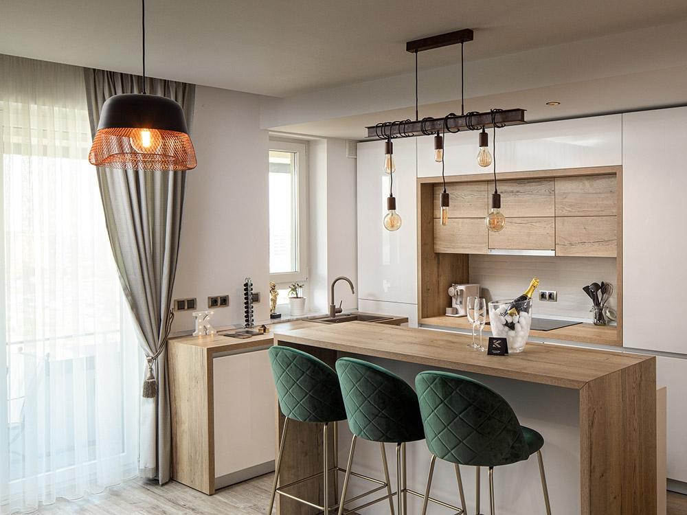 hotel premium brasov apartament studio bucatarie